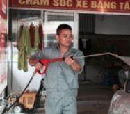 Rửa xe Hòa Quý