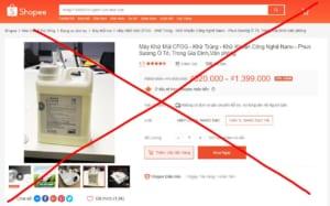 Quý khách hàng lưu ý để tránh mua phải hàng giả hàng nhái Cfog